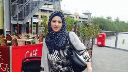 Newbury Park mum Sana Muhammad, 35, died from injuries to her stomach following a domestic incident.