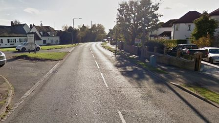 Some poems called for street lighting in Wingletye Lane, Hornchurch. Picture: Google