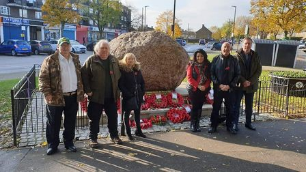 Harold Hill Remembrance Sunday 2019. Picture: Friends of Dagnam Park