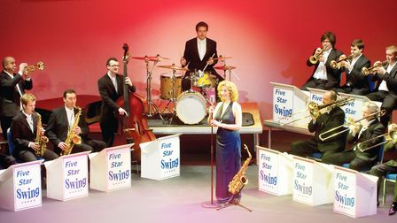 Five Star Swing multi-instrumentalists have performed on BBC TV for Children in need and Dame Vera L