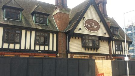 The Valentine pub in Gants Hill. Picture: Ken Mears