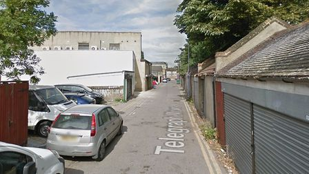 A man died after being stabbed in Telegraph Mews, Seven Kings. Picture: Google