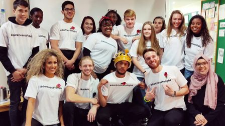 Young people who took part in a project at Bonny Downs Community Association have premiered songs ma