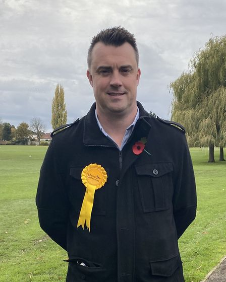 Thomas Clarke is the Liberal Democrat's candidate for Hornchurch and Upminster. Picture: Liberal Dem