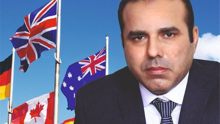 Kamran Malik is the Communities United Party candidate for East Ham. Picture: Communities United Par