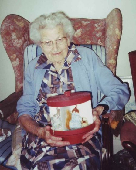 Brentwood historian Sylvia Kent interviewed Doris Cook about what Christmas is like in Brentwood in