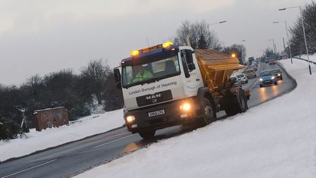 True grit: Havering Council is ready to for the cold weather