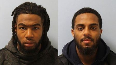 Oludewa Okorosobo and Seif Khalid Hashim have been jailed. Picture: Met Police