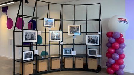 Photographs from Time to Change exhibit. Picture: Peter Mirow