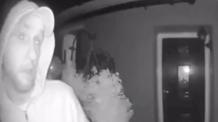 Do you recognise this man? He was caught on camera moments before a house in Rainham was burgled on