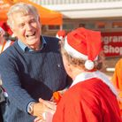 Sir Trevor Brooking hopes to give West Ham fans some much needed cheer with the Frankie's Festive Fu