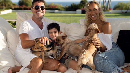 Leona Lewis announced Simon Cowell as a new amabassador for Hopefield Animal Sanctuary in Brentwood.