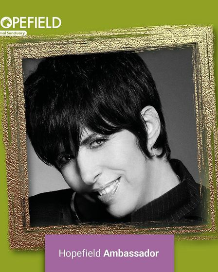 Diane Warren has been announced as a new amabassador for Hopefield Animal Sanctuary in Brentwood.