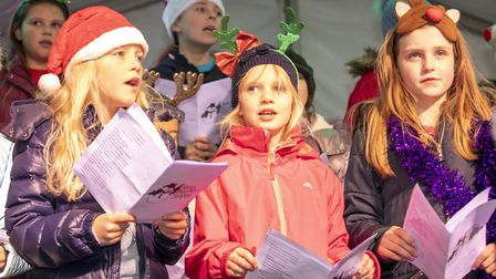 Long Ridings Primary School at the Shenfield Christmas Fayre 2019: Picture: Brentwood Borough Counci