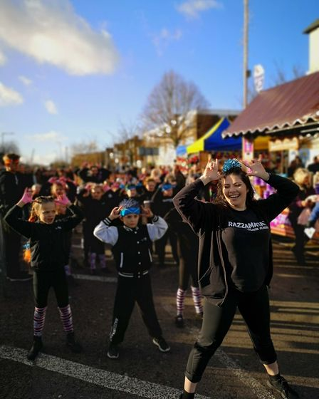 Razzamataz at the Shenfield Christmas Fayre 2019: Picture: Brentwood Borough Council