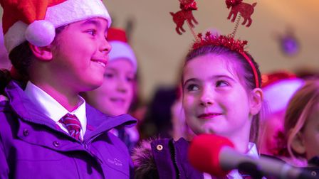 St Mary's C of E School at the Shenfield Christmas Fayre 2019: Picture: Brentwood Borough Council