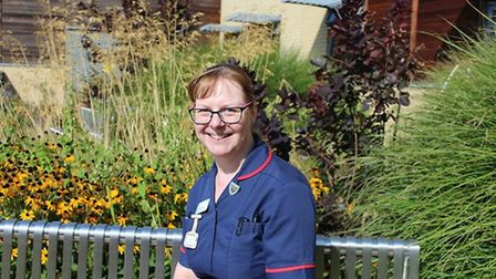 Bridget D'Aliessio, a palliative care nurse who oversees the Death Cafe. Picture: Barking, Havering