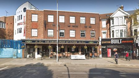The Great Spoon of Ilford has been closed due to a pest problem. Picture: Google