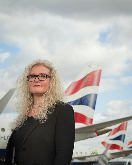 Alison FitzGerald, London City's chief operating officer. Picture: London City Airport