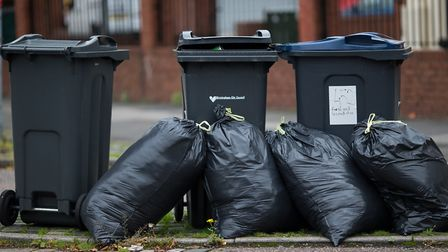 Redbridge Council has announced a wheelie bin trial for 7,000 households in the borough. Picture: PA