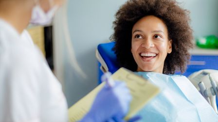 Composite veneers and bonding are a much cheaper way of dealing with relatively minor dental imperfe