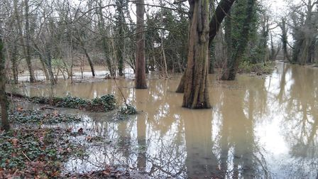 Flooding in Wanstead. Picture: Paul Donovan