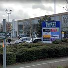 Police have been called to the Gallows Corner Retail Park dozens of times in the past two years. Pic