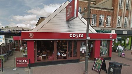 The Costa Coffee in Station Road, Upminster was targeted by thieves who stole £280 on Sunday, August
