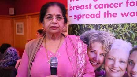 Yoga teacher and retired GP Sudarshan Kapur has been recognised for her services to the community. P