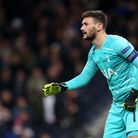 Tottenham Hotspur goalkeeper Hugo Lloris during the UEFA Champions League match at Tottenham Hotspur