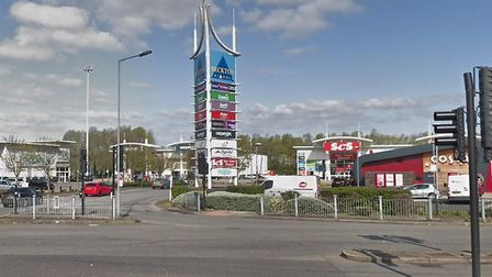 Hundreds of shoplifting offences were reported at the Beckton Triangle retail park in two years. Picture: Google Streetview