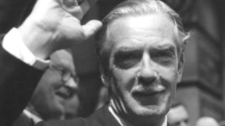 Royal Libertys 1955 mock general election took place almost two months after Sir Anthony Edens Tor