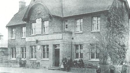 The King Harold Hotel in Harold Wood in 1910. Picture: Chris Saltmarsh and Norma Jennings