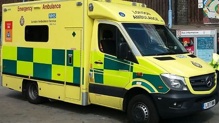 The London Ambulance Service has been rated Good by the Care Quality Commission. Picture: Ken Mears