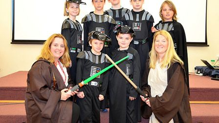 Star Wars Day at Lowestoft primary school. Pictures; MICK HOWES