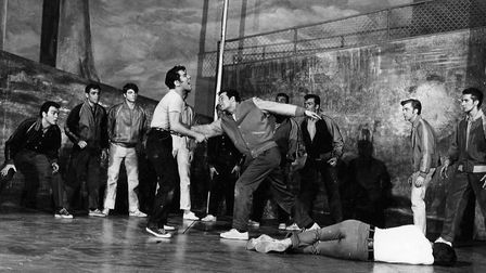 The Rumble from West Side Story, 1957.