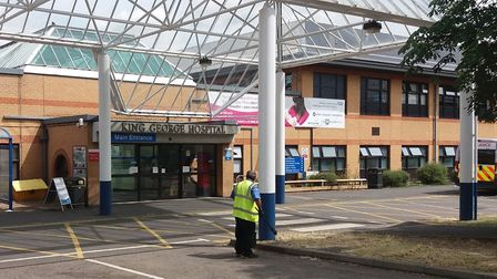 King George Hospital. The trust which runs the Goodmayes site and Romford's Queen's Hospital has bee