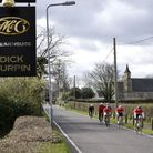 Cyclists made their way past the Dick Turpin Steakhouse in Aldborough Road North. Picture: Ron Jeffr