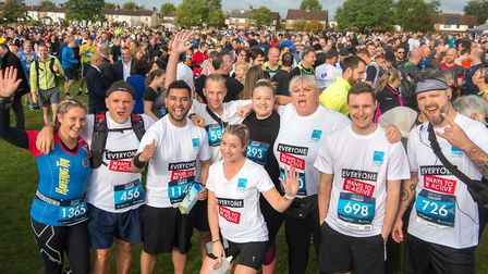 More than 1000 people took part in the Havering Half Marathon in 2019. Picture: Mark Sepple