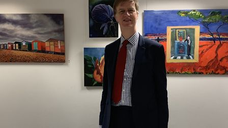 Labour general election candidate for East Ham Stephen Timms visited the exhibition. Picture: suppli