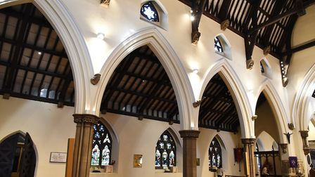 With seating for 650 people, St Edwards church wasnt big enough to become a cathedral. Picture: Ke
