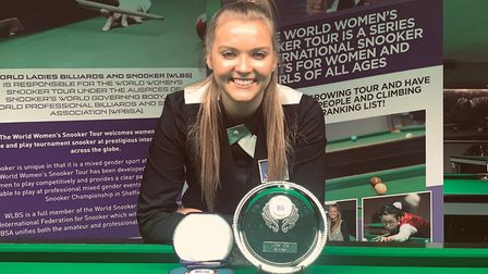 Emma Parker from Hornchurch snooker player