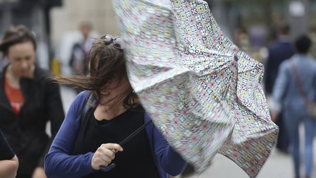 London will not quite escape Storm Ciara (Picture: PA Images)