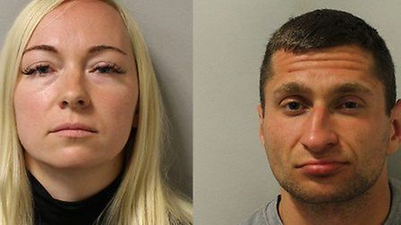 Asta Juskauskiene and Mantas Kvedaras have been jailed for murdering her ex-husband. Picture: Met Po