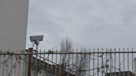 A disconnected camera at the far end of Fothergill Close, which is waiting to be upgraded. Picture: