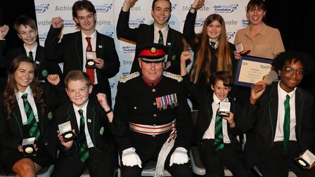 Abbs Cross Academy and Arts College winners. Picture: JPF
