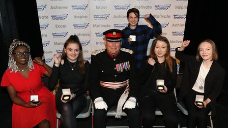 Havering Sixth Form College winners. Picture: JPF