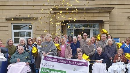 Staff at Howard Lodge in Brentwood were delighted to learn the home achieved an Outstanding from the