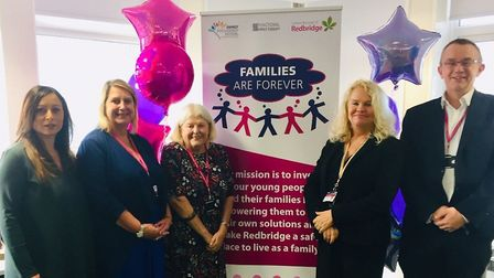 The Families are Forever programme which gives therapy to families with at risk young people launche