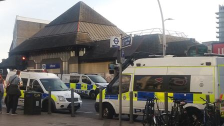 British Transport Police have carried out a number of operations at Ilford Station in an effort to r